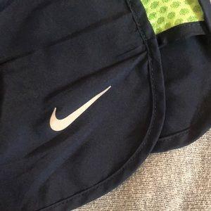 Nike Shorts - Navy Nike Athletic Shorts